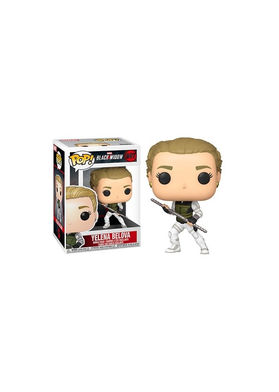 BLACK WIDOW YELENA BELOVA  FUNKO POP #607
