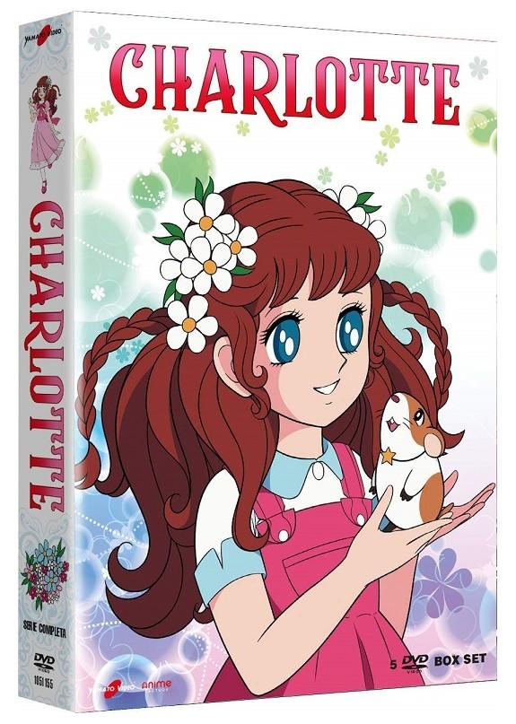 Charlotte - La Serie Completa (5 Dvd)