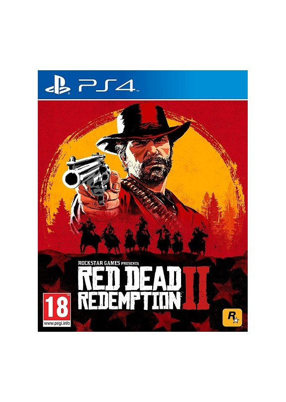 RED DEAD REDEMPTION 2  PS4  usato