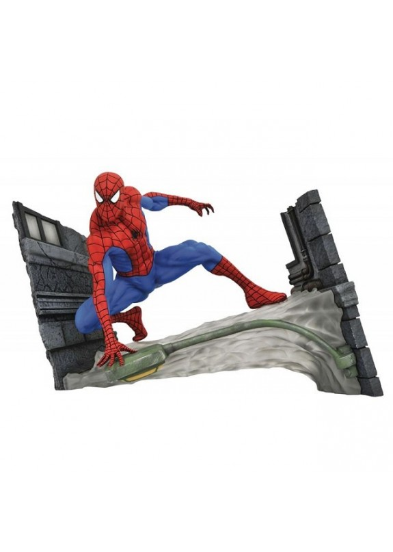 MARVEL GALLERY SPIDER-MAN WEBBING PVC DIORAMA