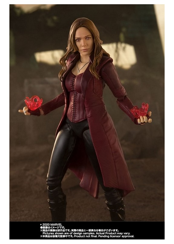 AVENGERS ENDGAME SCARLET WITCH S.H.FIGUARTS