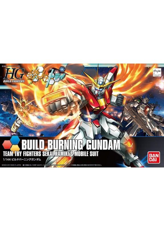 HG BUILD BURNING GUNDAM