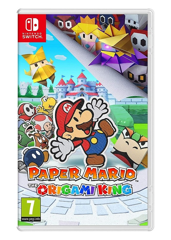 PAPER MARIO : THE ORIGAMI KING NINTENDO SWITCH