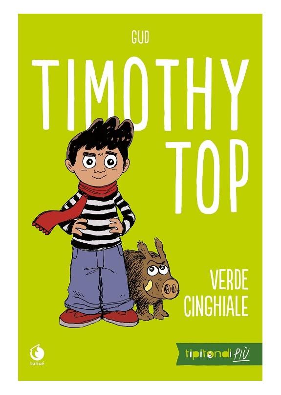 GUD - VERDE CINGHIALE. Timothy Top 01 ( UNICO )
