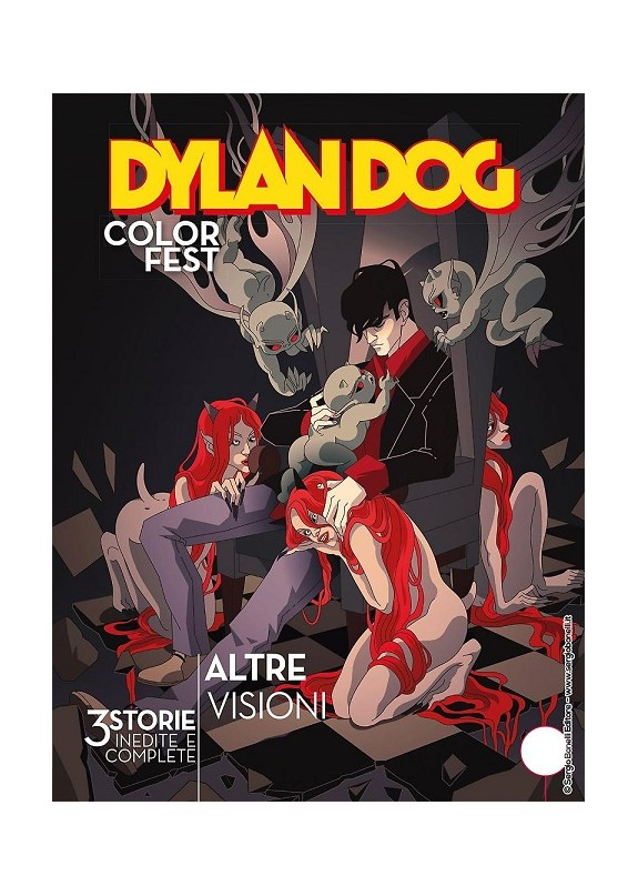DYLAN DOG COLOR FEST N.32