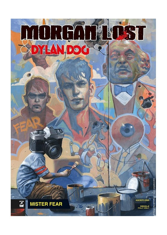 MORGAN LOST & DYLAN DOG N.1 MISTER FEAR