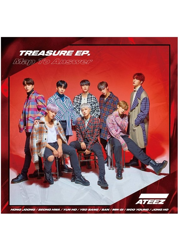 Ateez - Treasure Ep. Map To Answer