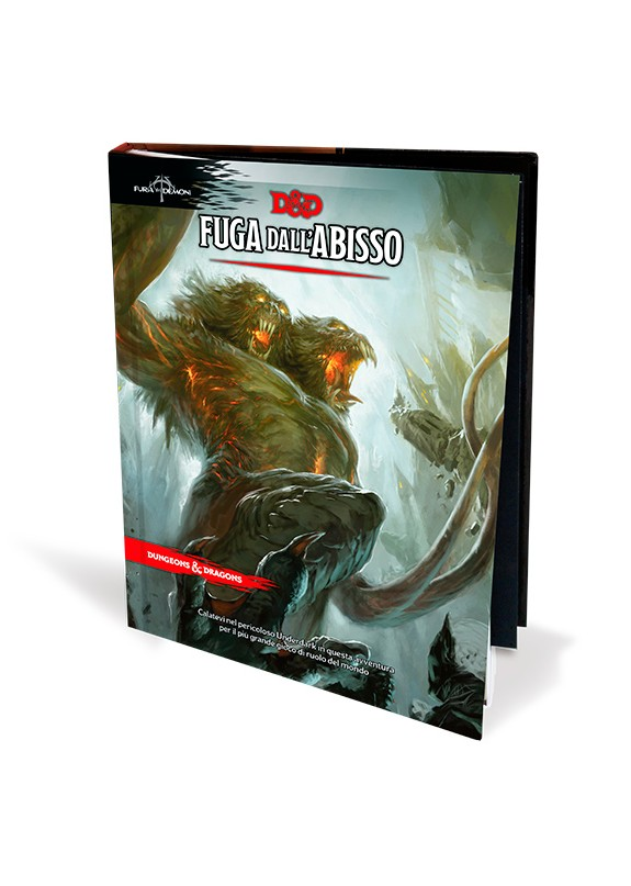 DUNGEONS & DRAGONS 5a Edizione - FUGA DALL'ABISSO
