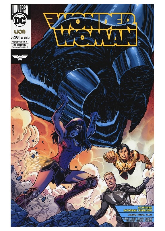 WONDER WOMAN RINASCITA N.49 / WONDER WOMAN N.81