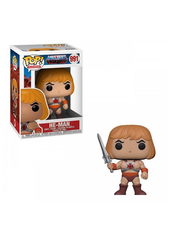 MASTERS OF THE UNIVERSE HE-MAN  FUNKO POP #991