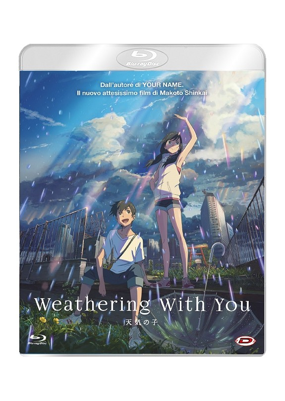 Weathering With You  Blu-ray