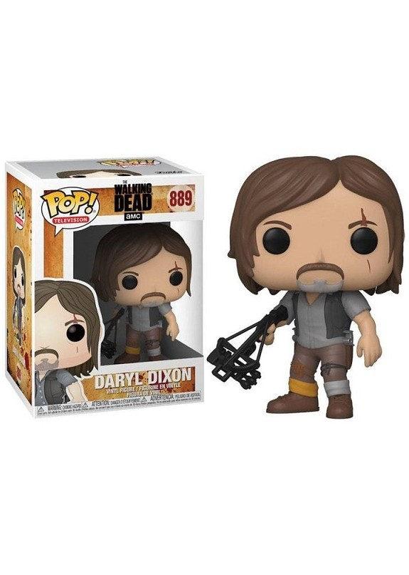 THE WALKING DEAD DARYL DIXON FUNKO POP #889