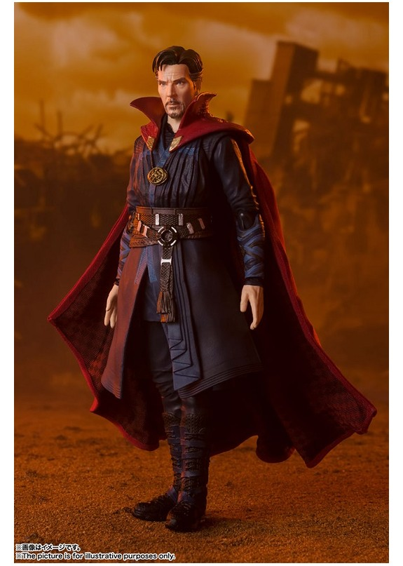AVENGERS INFINITY WAR DOCTOR STRANGE BATTLE ON TITAN S.H.FIGUARTS