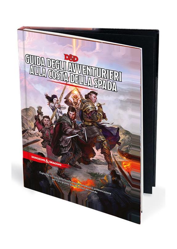 DUNGEONS & DRAGONS 5a Edizione - GUIDA DEGLI AVVENTURIERI ALLA COSTA DELLA SPADA