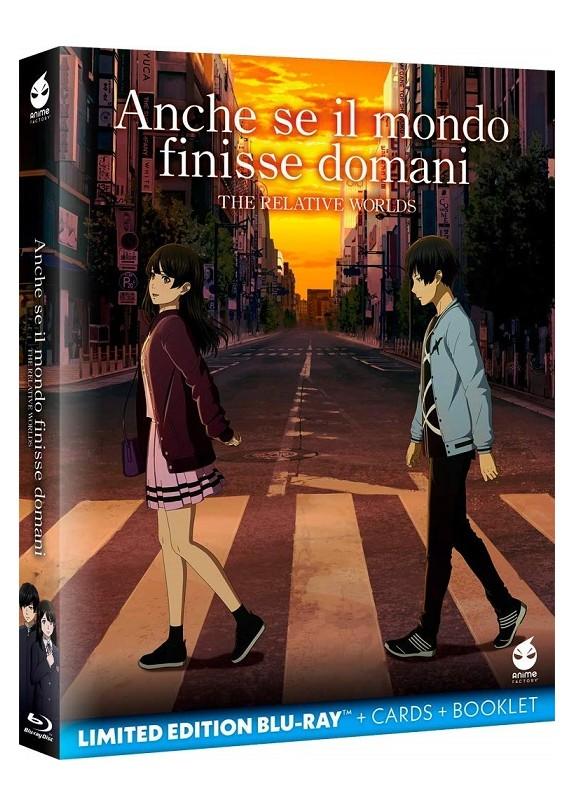 Anche se il mondo finisse domani - The relative Worlds (limited edition + cards + booklet)  Blu-ray