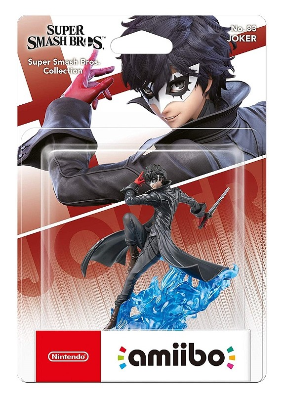 AMIIBO SUPER SMASH BROS  JOKER N.83