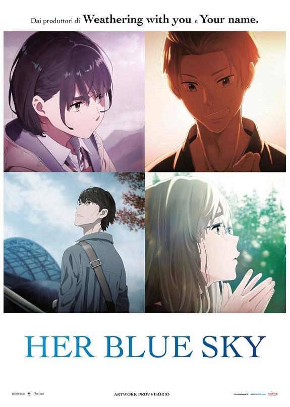 A Te Che Conosci L'Azzurro Del Cielo - Her Blue Sky  Blu-ray