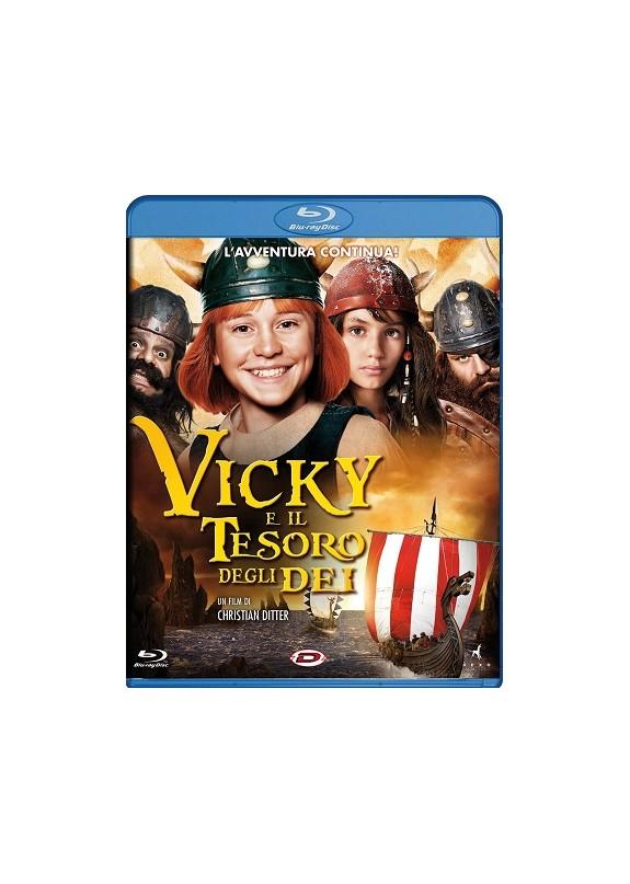 VICKY E IL TESORO DEGLI DEI   BLU-RAY
