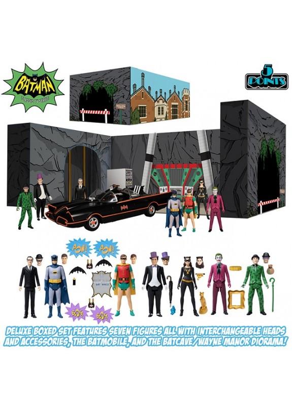5 POINTS BATMAN DELUXE BOXED SET