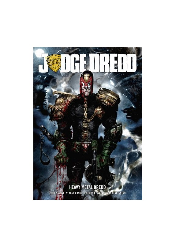 JUDGE DREDD-heavy metal dredd