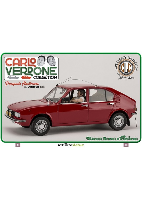AMITRANO ON ALFASUD ALFA 1:18 RESIN CAR