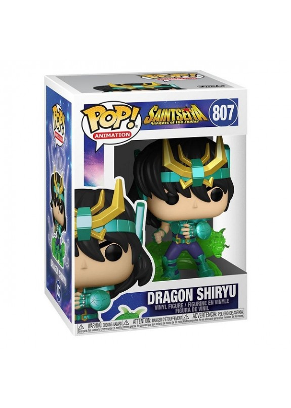 SAINT SEIYA DRAGON SHIRYU FUNKO POP #807