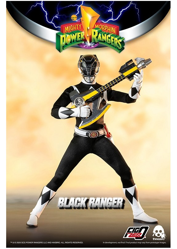 MIGHTY MORPHIN POWER RANGERS BLACK RANGER