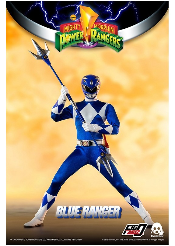 MIGHTY MORPHIN POWER RANGERS BLUE RANGER