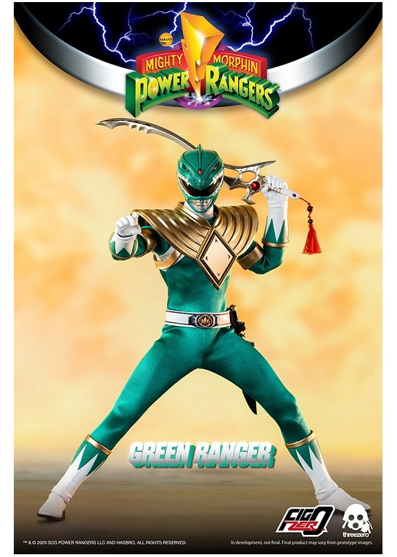 MIGHTY MORPHIN POWER RANGERS GREEN RANGER