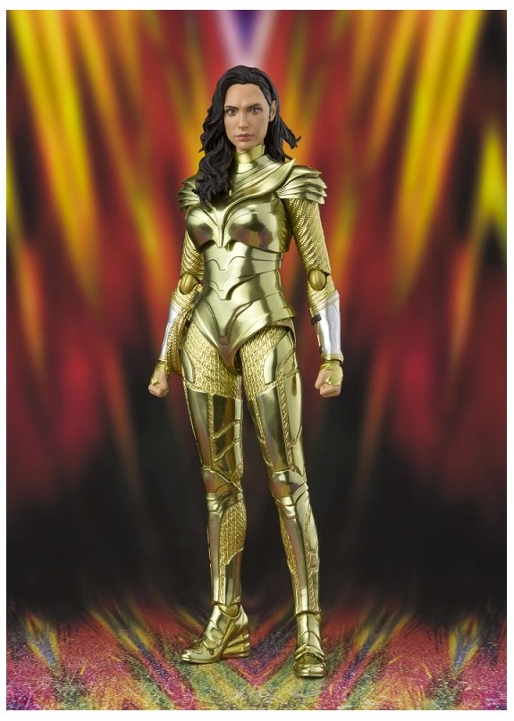 WW84 WONDER WOMAN GOLDEN ARMOR S.H.FIGUARTS