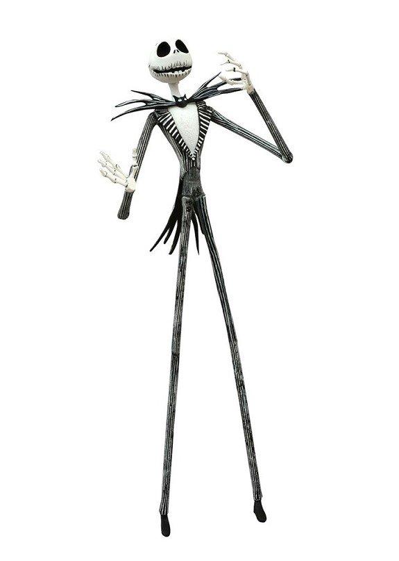 NIGHTMARE BEFORE CHRISTMAS SERIES 1 BEST OF JACK SKELLINGTON ACTION FIGURE