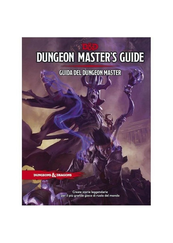 DUNGEONS & DRAGONS 5a Edizione - GUIDA DEL DUNGEON MASTER