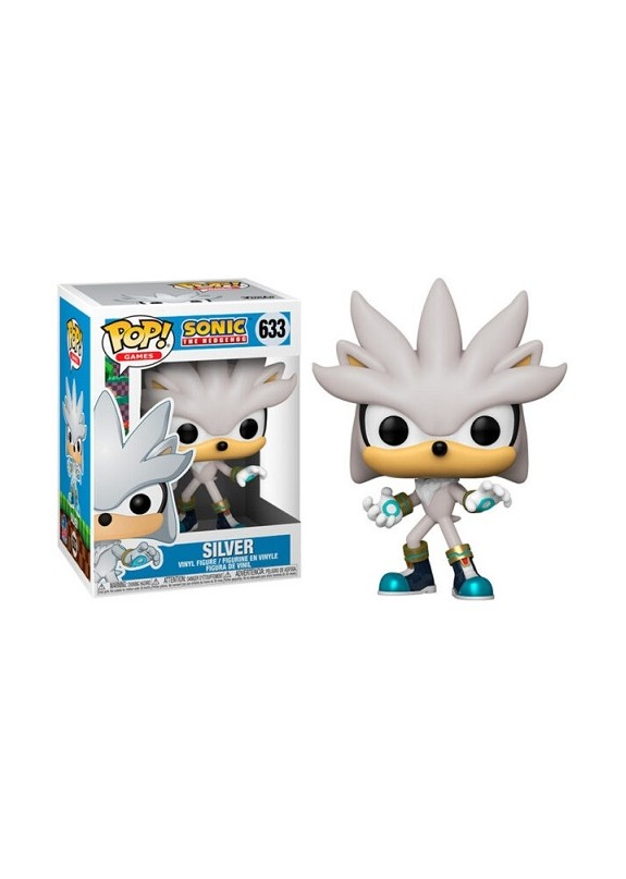 SONIC THE HEDGEHOG SILVER FUNKO POP 633