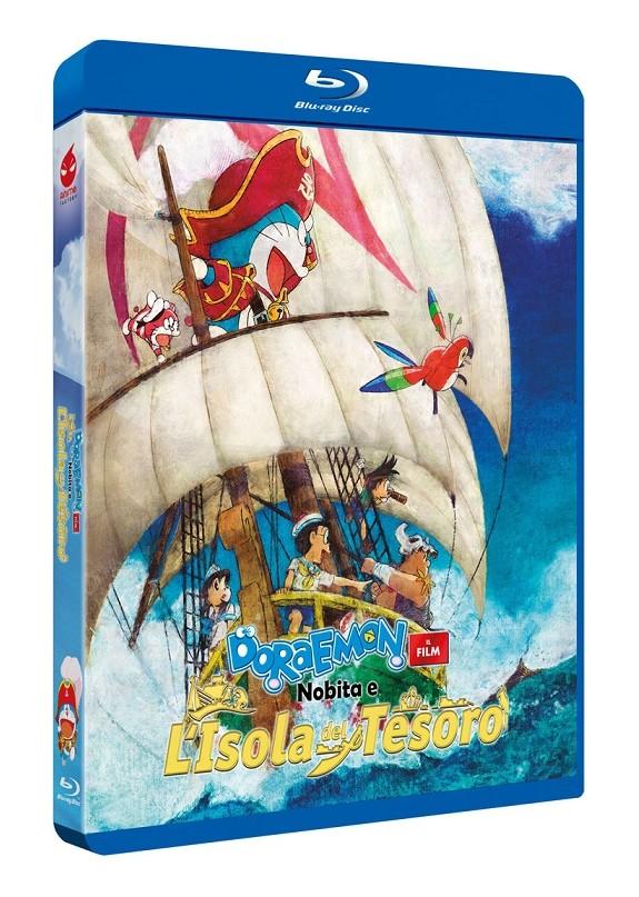 Doraemon - Il Film: Nobita E L'Isola Del Tesoro Blu-ray