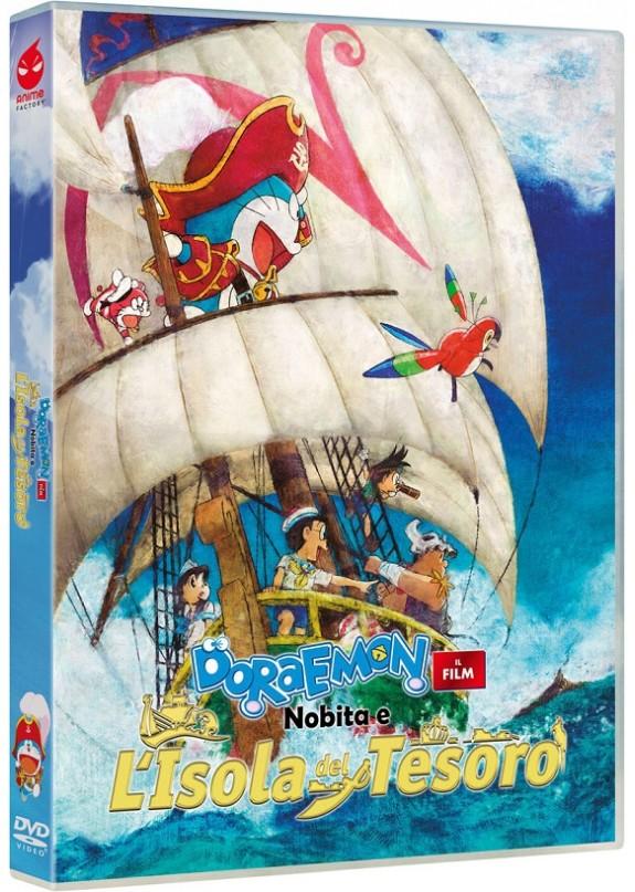 Doraemon - Il Film: Nobita E L'Isola Del Tesoro Dvd