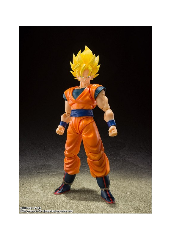 DRAGON BALL Z SS FULL POWER SON GOKU S.H. FIGUARTS