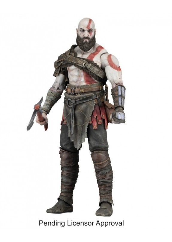 GOD OF WAR (2018) -7'' ACTION FIGURES KRATOS