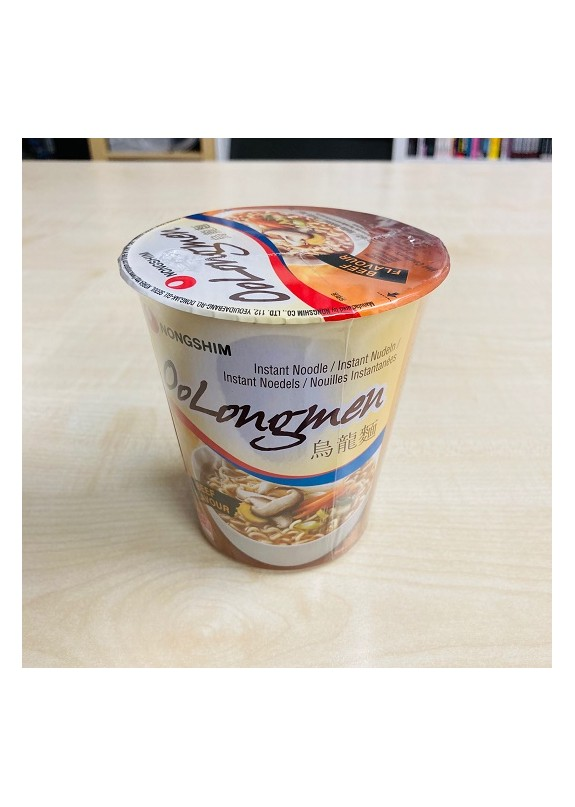 NONGSHIM OOLONGMEN CUP NOODLES GUSTO MANZO 75gr