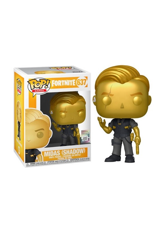 FORTNITE MIDAS (SHADOW)  FUNKO POP #637