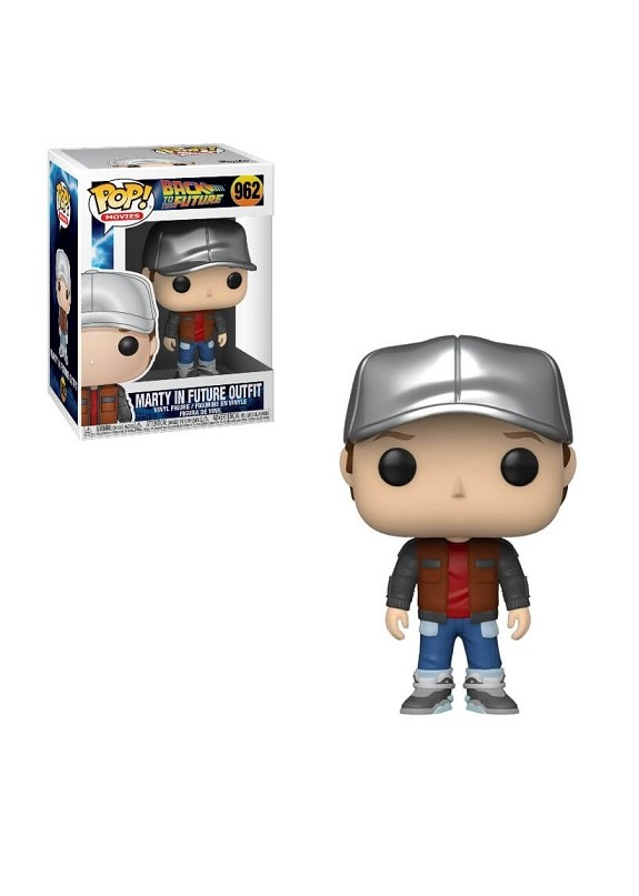 BACK TO THE FUTURE MARTY IN FUTURE OUTFIT  FUNKO POP 962