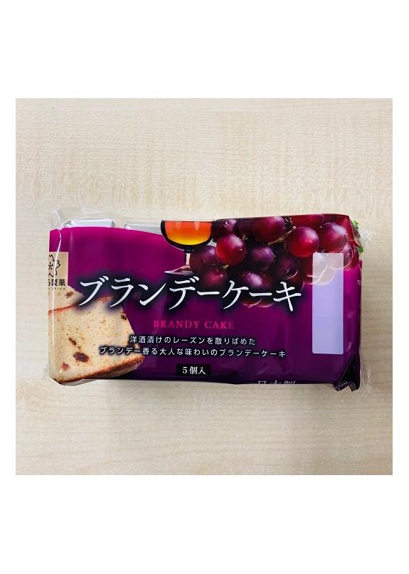JP SAKURA BRANDY CAKE 210g