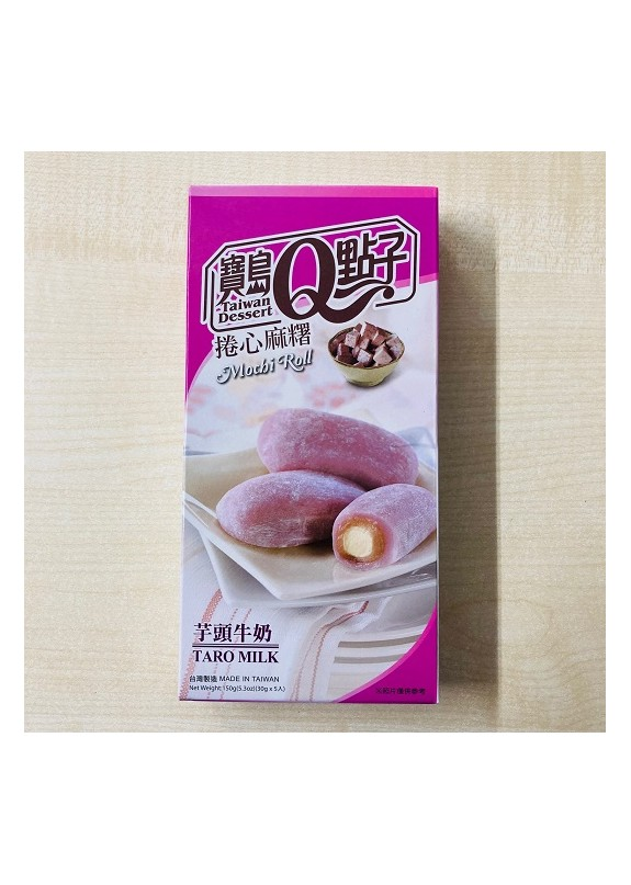 TARO MILK MOCHI ROLL 150g