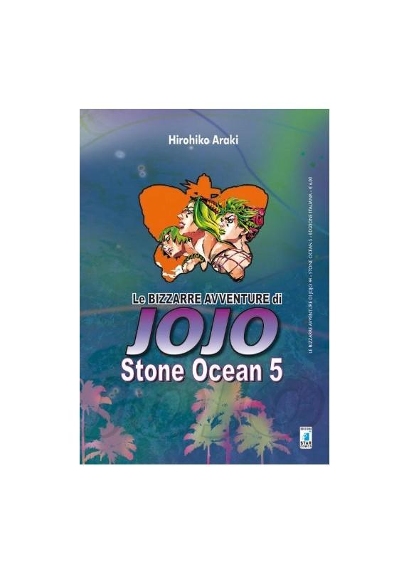 BIZZARRE AVVENTURE DI JOJO N.44 STONE OCEAN N.5 (di 11)