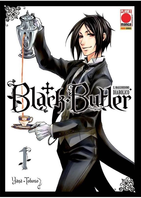 BLACK BUTLER N.1 RISTAMPA