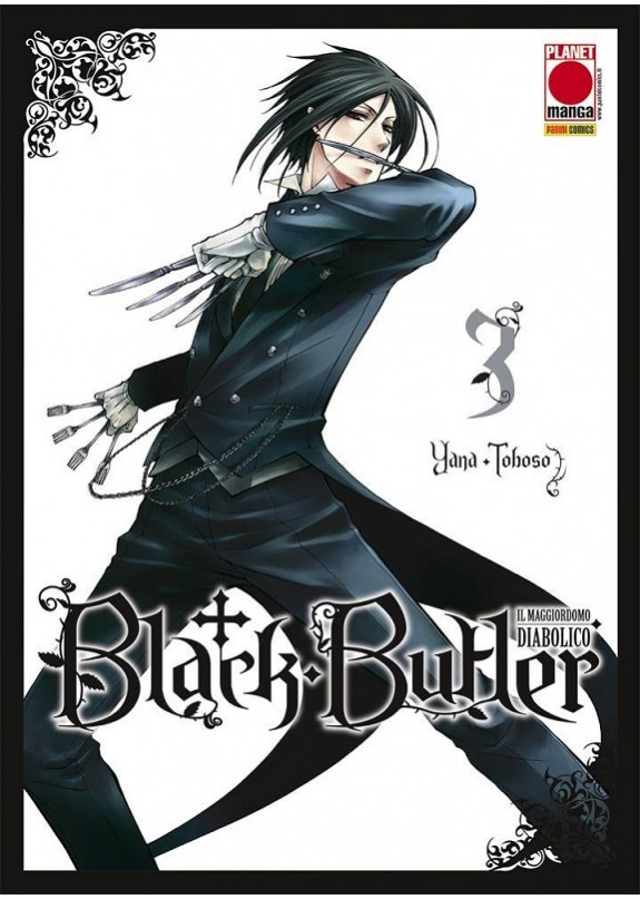 BLACK BUTLER N.3