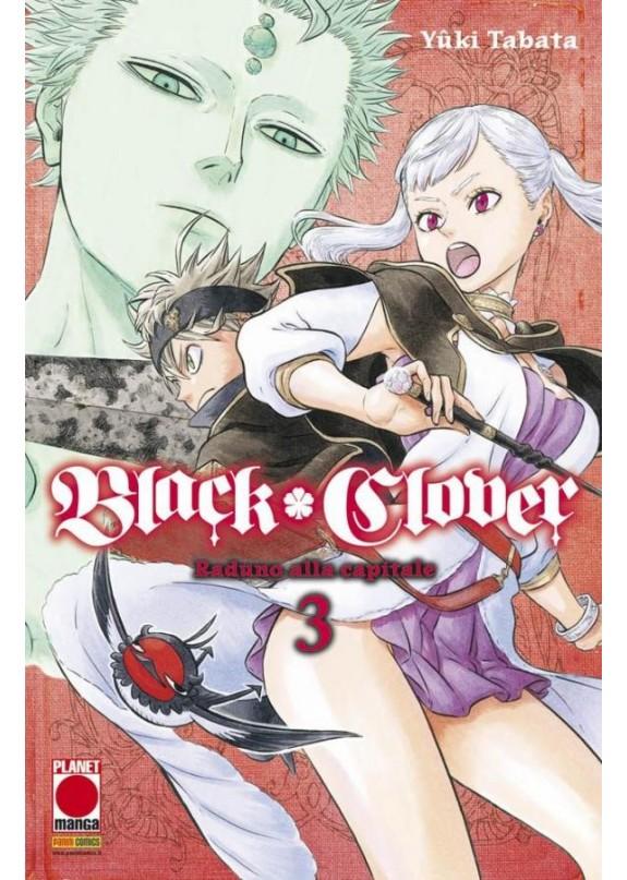 BLACK CLOVER N.3 (RIST)