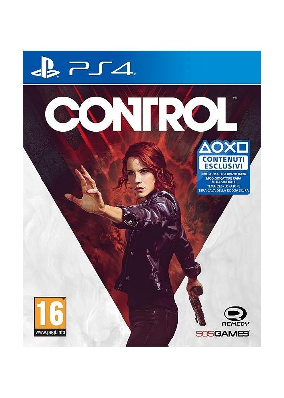 CONTROL  PS4  usato