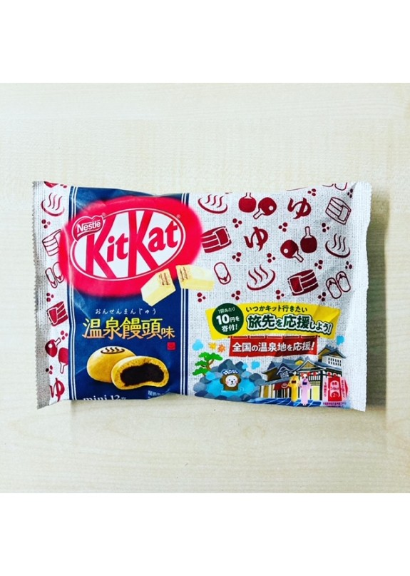 KIT KAT MINI HOT SPRING MANTOU FI 12pz  118,8g