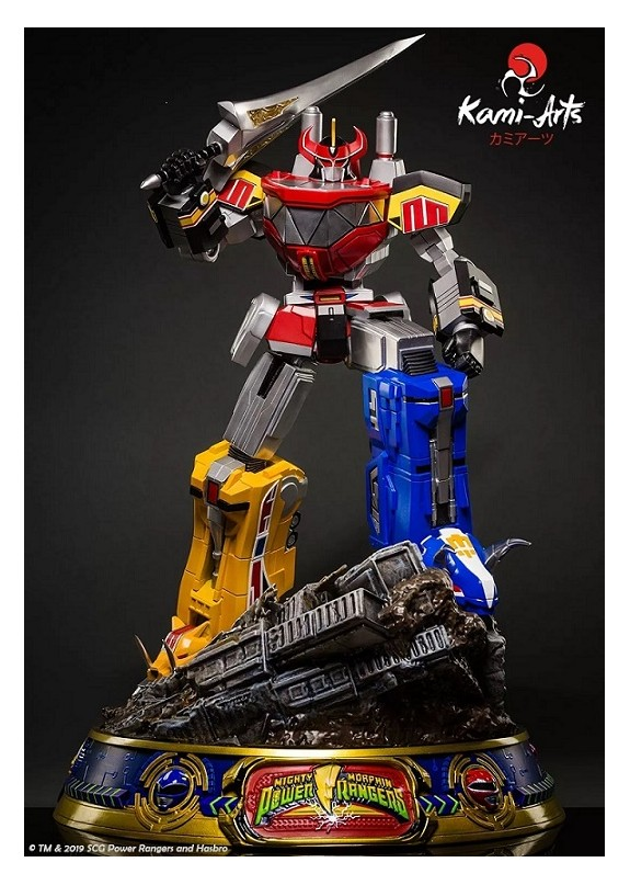 MIGHTY MORPHIN POWER RANGERS MEGAZORD 1/4 STATUE