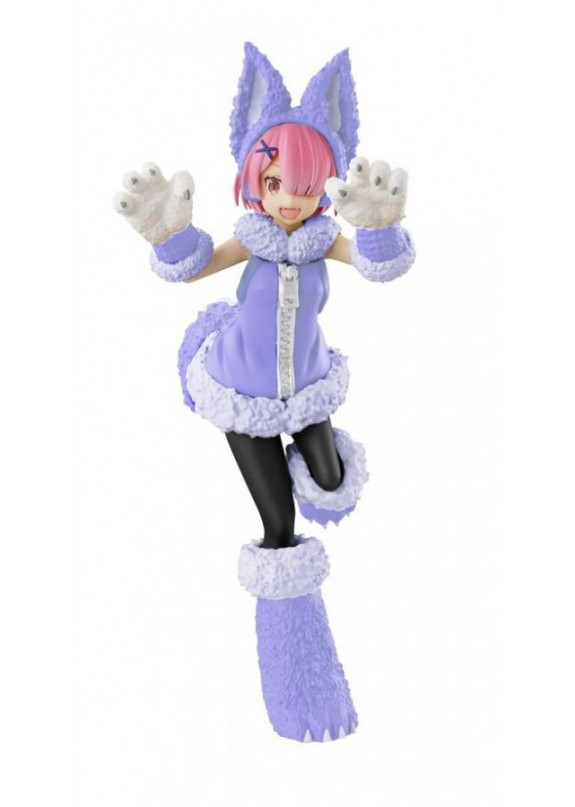 RE ZERO RAM WOLF AND SEVEN SSS FIGURE
